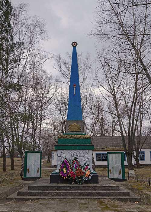 Обелиск Славы воинам погибшим в второй мировой войне