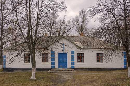 Церковь в селе Топиловка