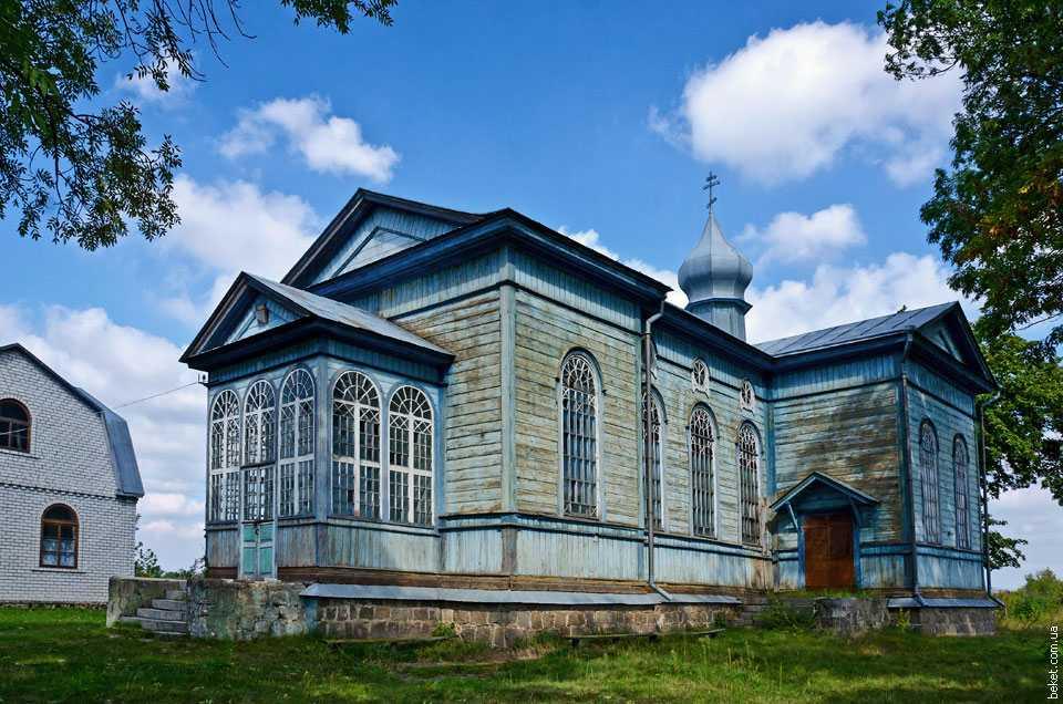 Церковь Святителя Николая в селе Тубольцы