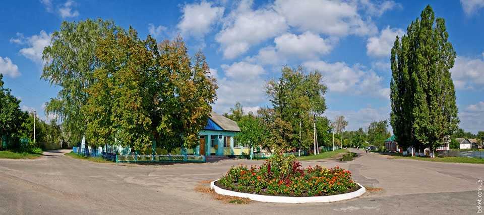 В центре села Тобольцы