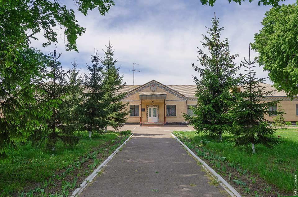 Школа в селе Великие Прицки
