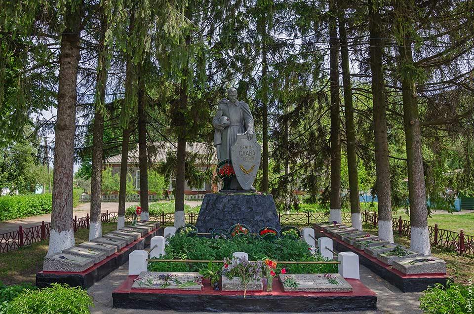 Мемориал погибшим воинам во Второй мировой войне