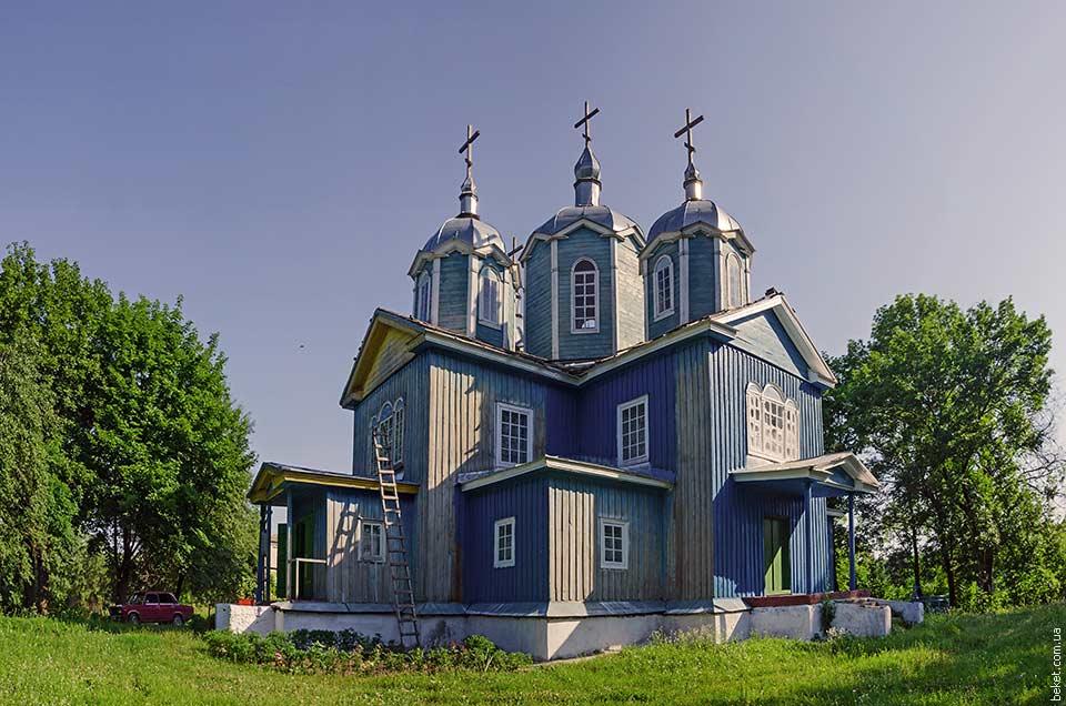 Успенская церковь в селе Ольховец