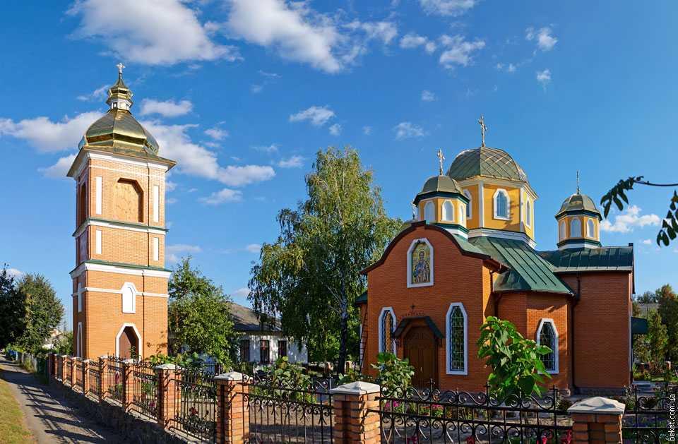 Церковь в Ольшане