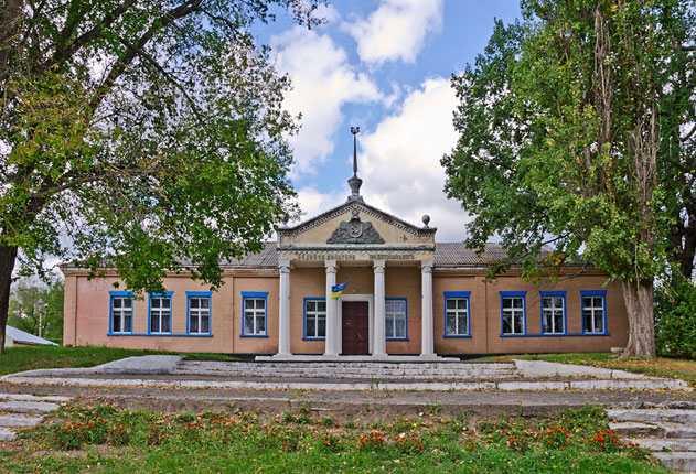 Дом Культуры в селе Вязовок