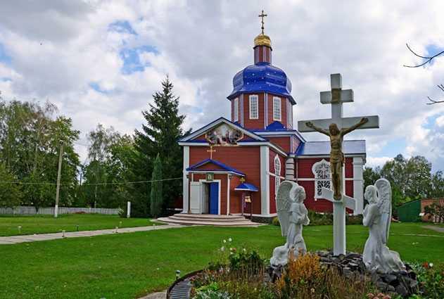 Успенская церковь в селе Вязовок