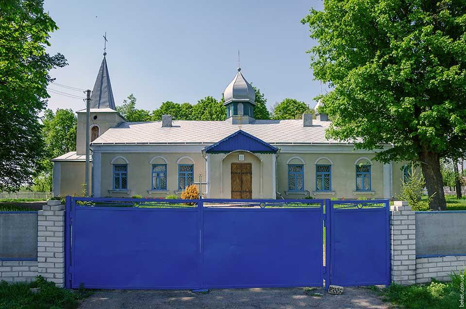 Церковь святого Николая в селе Закутинцы