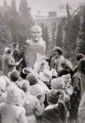 Открытие бюста Ленина в Золотоноше 1987 г.