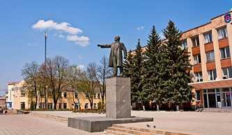 Памятник Ленину в Звенигородке