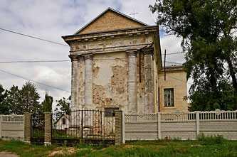 «Наистарейшее строение Звенигородки — Преображенский костел