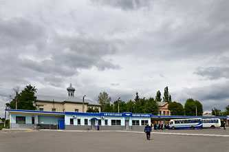 Автостанция в Звенигородке