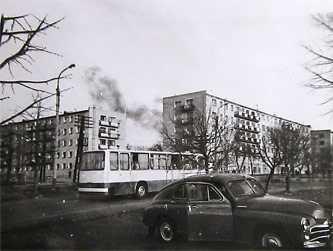 «Внешний вид нового жилого массива в Звенигородке [1960-70 гг.]